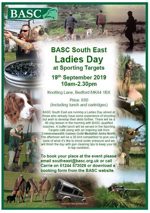 BASC South East - Ladies Day
