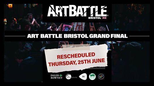 Art Battle Bristol Grand Final - 25 June 2020