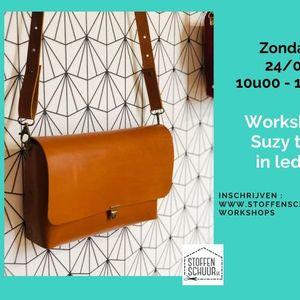Workshop Suzy handtas in leder