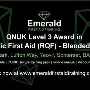 QNUK Level 3 Award in Paediatric First Aid (RQF) - Blended