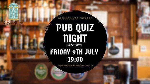 Pub Quiz, 9 July | Event in Portsmouth | AllEvents.in