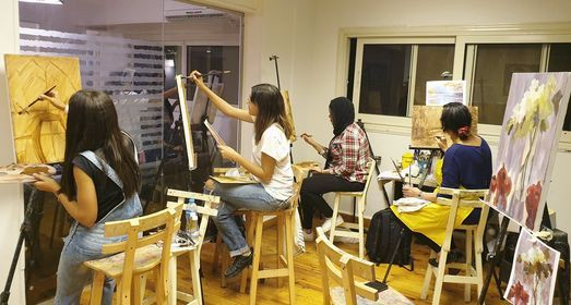 Acrylic Painting Workshop (12 hrs.), 31 July   Event in Cairo   AllEvents.in
