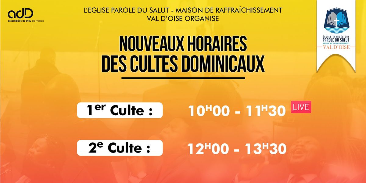 2e CULTE DOMINICAL | Event in Cergy-Pontoise | AllEvents.in