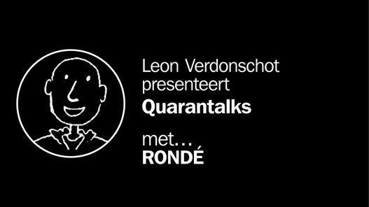 Quarantalks met Rondé, 17 January   Online Event   AllEvents.in