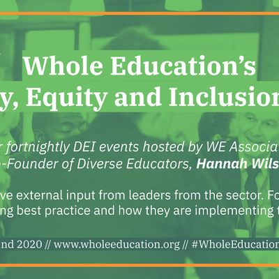 Whole Education Diversity Equity and Inclusion Strand