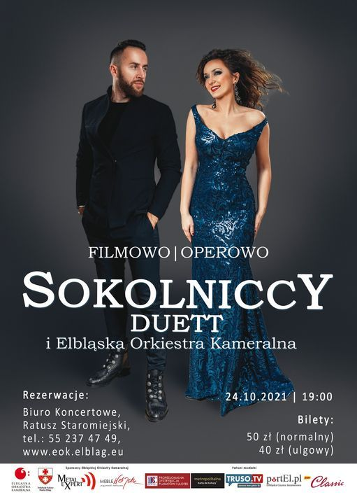 Filmowo i Operowo. EOK & Sokolniccy Duet, 24 October | Event in Elblag | AllEvents.in
