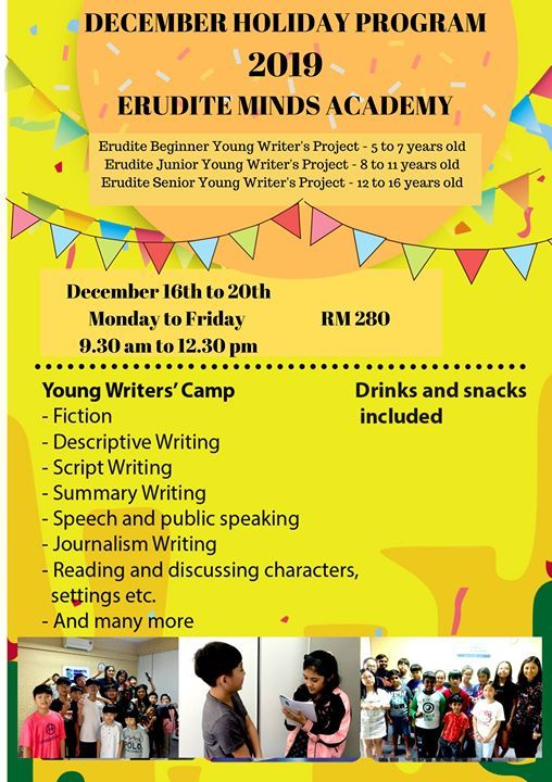 Young Writers Project December 2019