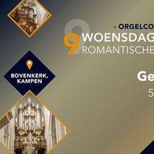 Gert van Hoef in concert - Bovenkerk Kampen