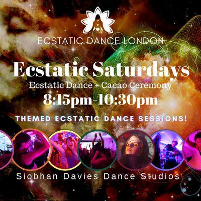 Ecstatic Saturdays INDOORS  Siobhan Davies Studio Ecstatic Dance & Cacao