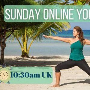 Sunday Morning Online Yoga