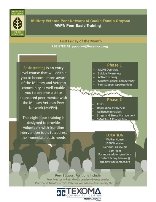 MVPN Basic Training, 2 July   Event in Denison   AllEvents.in