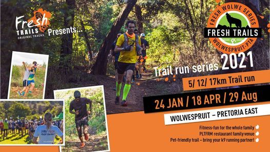 Fresh@Wolwe & Waterkloof Spruit Series 29 Aug, 29 August   Event in Pretoria   AllEvents.in