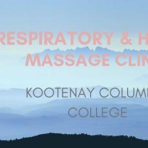 Respiratory & Heart RMT Student Massage Clinic