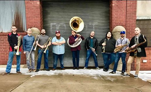 Back Alley Brass Band at Limitless Brewing
