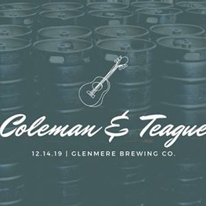 Saturday Acoustics with Coleman and Teague