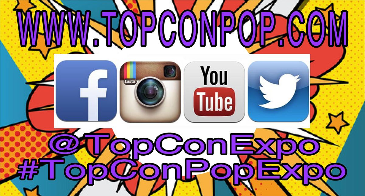 2020 Pop Culture Events.Topcon Pop Expo 2020 At Stormont Vail Events Center