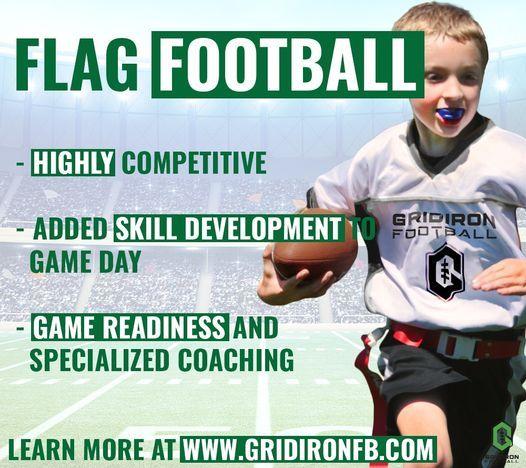 Gridiron Football - Flag Football - Arlington - Spring Season | Event in Arlington | AllEvents.in