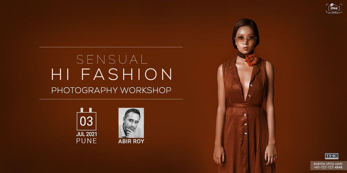 SENSUAL FASHION PHOTOGRAPHY WORKSHOP, 3 July | Event in Pune | AllEvents.in