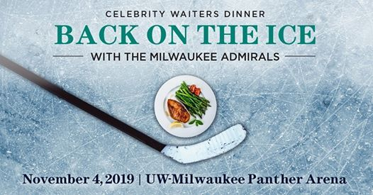 Celebrity Waiters Dinner Back on the Ice