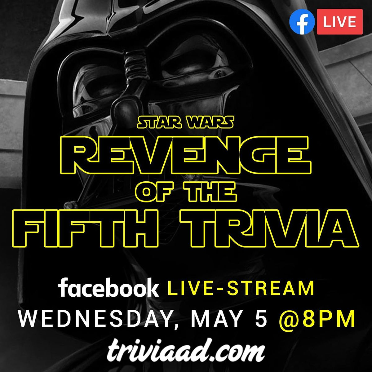 Star Wars- Revenge of the Fifth Trivia Live-Stream | Online Event | AllEvents.in