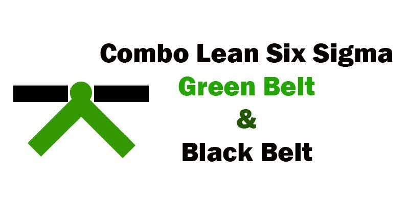 Combo Lean Six Sigma Green Belt and Black Belt Certification Training in Richmond VA