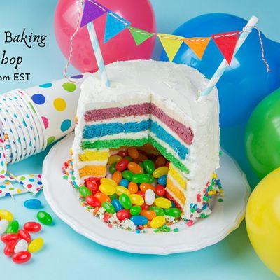 Pride Piata Cake Baking Virtual Workshop