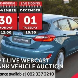 CPT LIVE WEBCAST BANK VEHICLE AUCTION