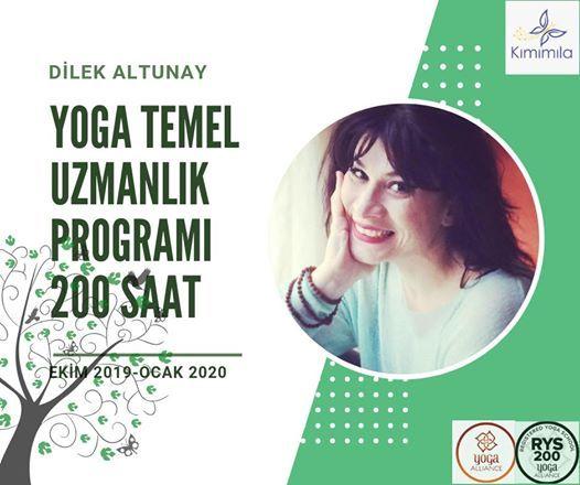 200 SAAT TEMEL YOGA Uzmanlik Programi (Ekim 2019-Ocak 2020)