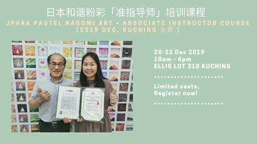 JPHAA Pastel Nagomi Art Associate Instructor Course - Kuching