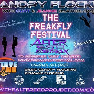 FreakFly Fest Skydive DeLand- Flocking
