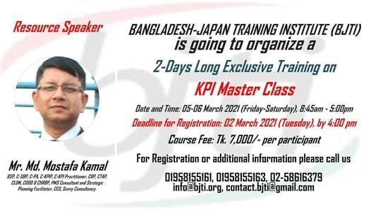 Lab Session: KPI Master Class, 5 March | Event in Dhaka | AllEvents.in