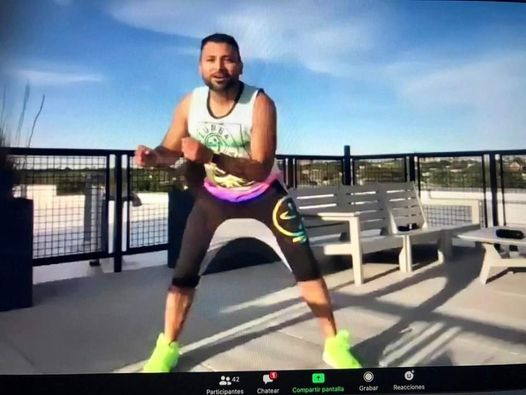 Virtual Zumba Session, 5 December | Online Event | AllEvents.in