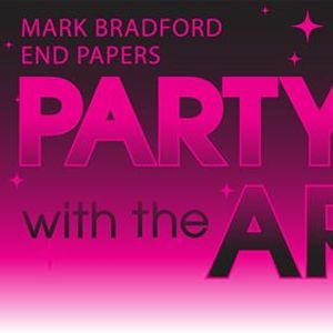 Party with the Artist - Celebrating Mark Bradford End Papers