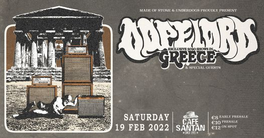 Dopelord [PL] live in Volos, 20 February | Event in Volo | AllEvents.in