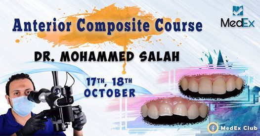 4th Anterior Composite Course by Dr. Mohamed Salah