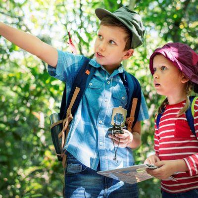 Orienteering with Kids Run Wild in Rosenthal (Spring 2021)