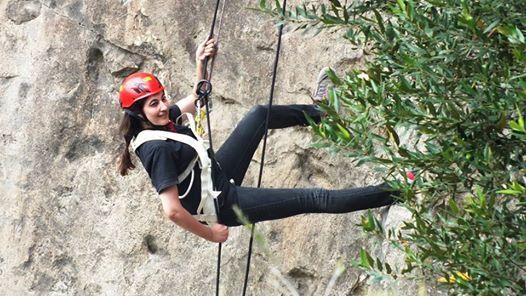 21st Basic rock climbing course