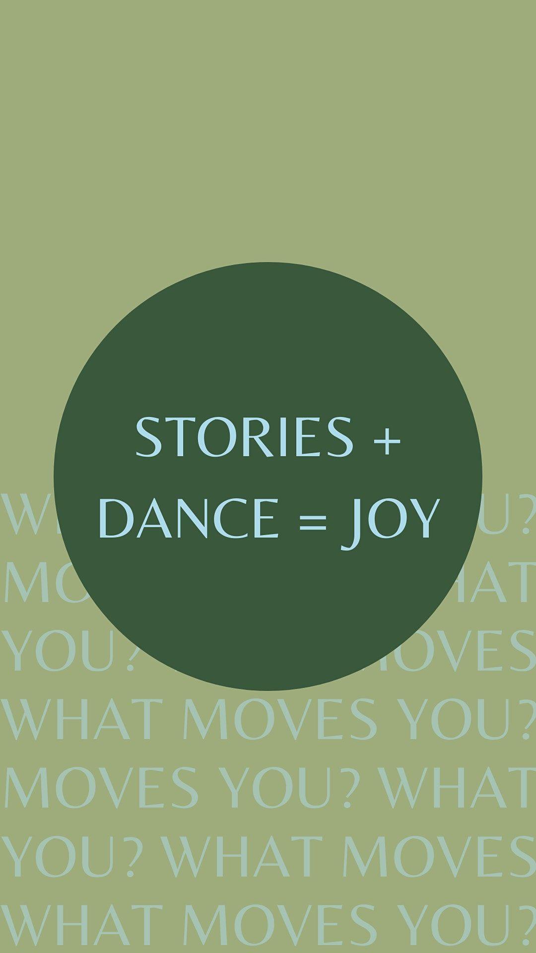 Stories + Dance = Joy   Online Event   AllEvents.in