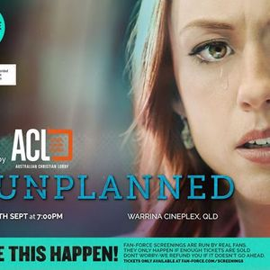 Unplanned - Warrina Cineplex QLD