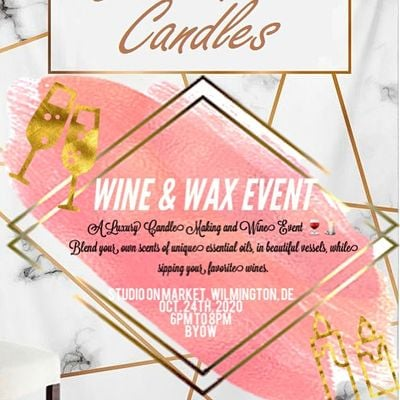 Cabernet Candles Wine and Wax Event