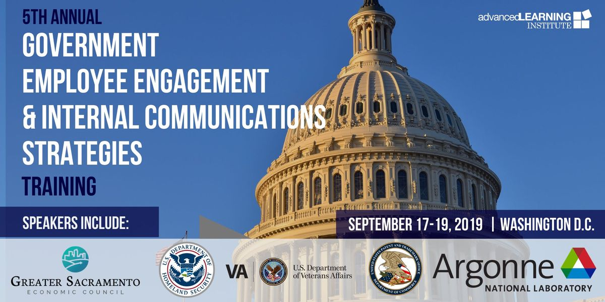5th Annual Government Employee Engagement & Internal Communications Strategies