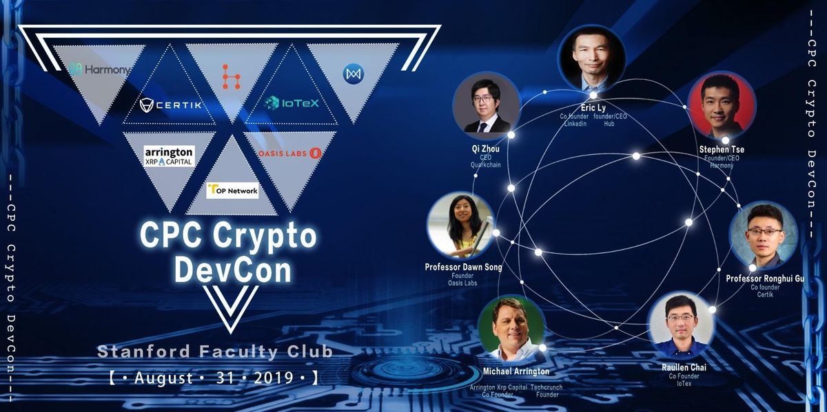 CPC Crypto DevCon 2019 at The Stanford Faculty Club, Stanford