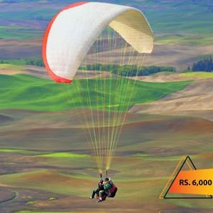 Enjoy Tandem Paragliding in Kallar Kahar with D Memory Makers.