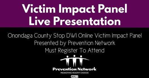 Victim Impact Panel-REGISTER HERE   Online Event   AllEvents.in