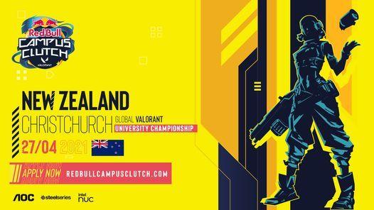 Red Bull Campus Clutch - Christchurch Qualifiers, 27 April | Event in Christchurch | AllEvents.in