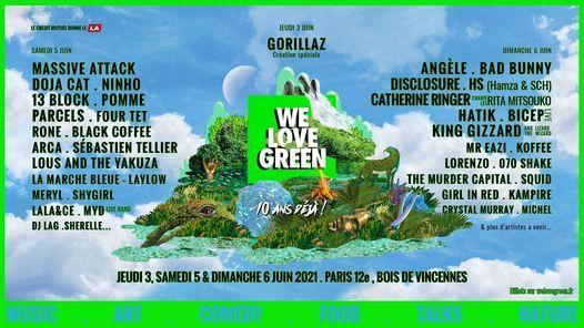 We Love Green 2021, 5 June | Event in Ivry-sur-seine | AllEvents.in