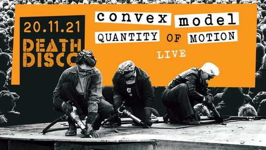Convex Model & Radio Sect_live at Death Disco, 20 November   Event in Athens   AllEvents.in
