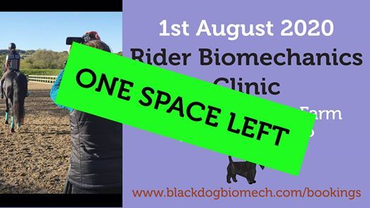 Rider Biomechanics Clinic at Centyfield Exeter 1820