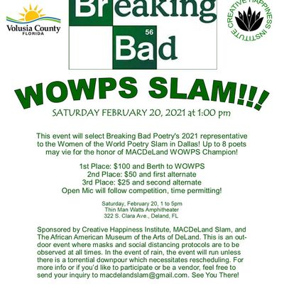 2021 Breaking Bad WOWPS Qualifier