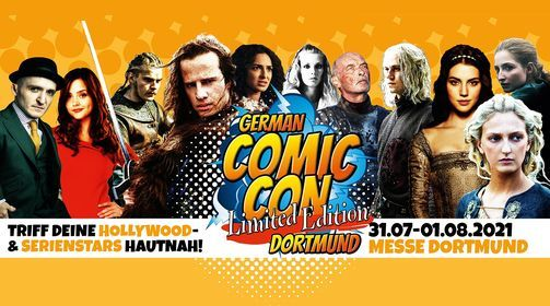 German Comic Con Dortmund - Limited Edition | Event in Dortmund | AllEvents.in